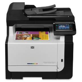 HP Color LaserJet CM1415fnw printer