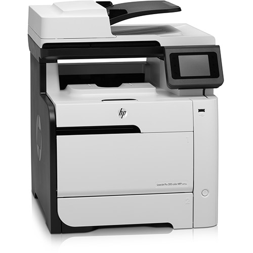 HP Color LaserJet Pro 300 M375n printer