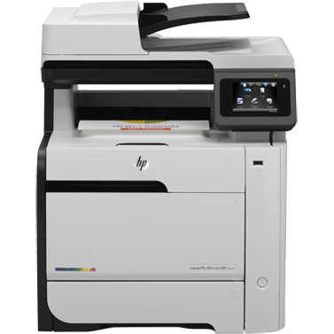 HP Color LaserJet Pro 400 MFP M475dn printer