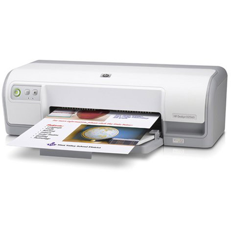 HP DeskJet D2563 printer
