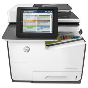 HP PageWide Enterprise color Flow MFP 586f printer