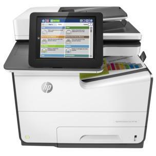 HP PageWide Enterprise color Flow MFP 586f printer