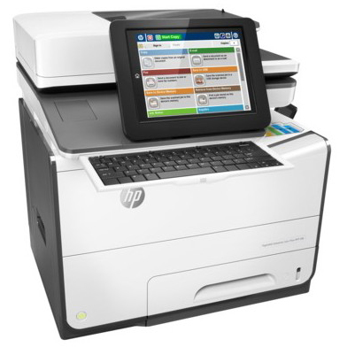 HP PageWide Enterprise color Flow MFP 586z printer