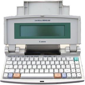 Canon Starwriter-Jet-300 printer
