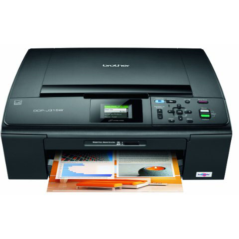 BROTHER DCP J315W PRINTER
