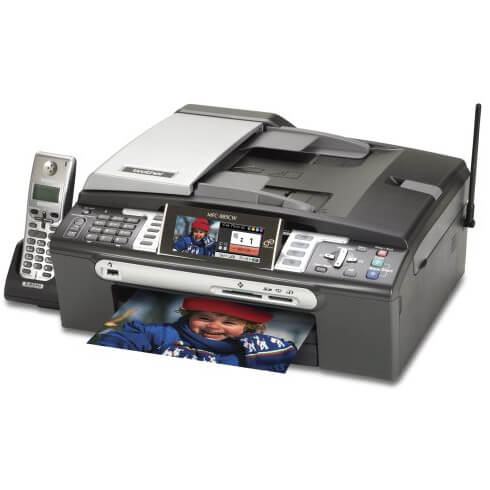 BROTHER MFC 885CW PRINTER
