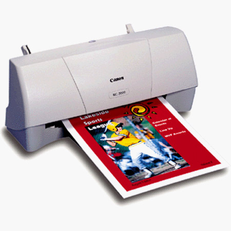 CANON BJC 2000 PRINTER