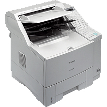 CANON FAX L1000 PRINTER