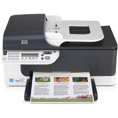 HP OFFICEJET J4580 PRINTER