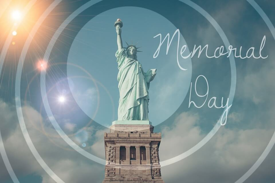 Statue of Liberty Memorial Day photograph