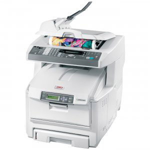 OKIDATA OKI C5550N PRINTER